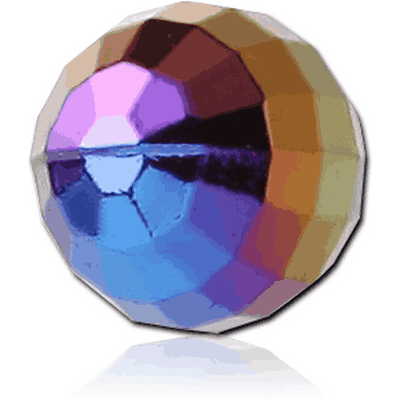 UV ACRYLIC AURORA CUTTING BALL