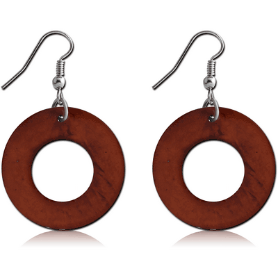 CAPIZ EARRINGS PAIR