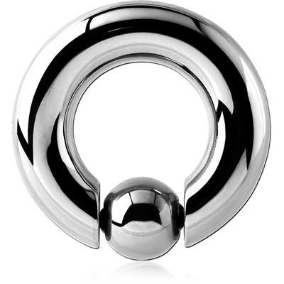 SURGICAL STEEL SPRING CLOSURE RING