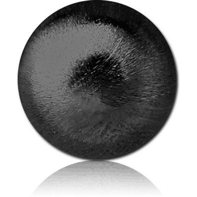 BLACK PVD COATED SURGICAL STEEL SAND BLAST BALL