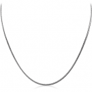 STAINLESS STEEL SERPENTINE NECK CHAIN 45CMS