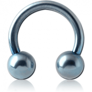 ANODISED SURGICAL STEEL CIRCULAR BARBELL PIERCING