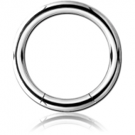 SURGICAL STEEL SMOOTH SEGMENT RING