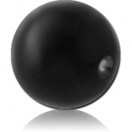BLACK PVD COATED SURGICAL STEEL BALL FOR BALL CLOSURE RING PIERCING