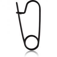 BLACK PVD COATED SURGICAL STEEL SAFETY PIN