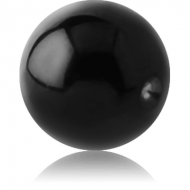 BLACK PVD COATED TITANIUM BALL FOR BALL CLOSURE RING