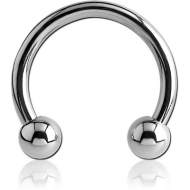 SURGICAL STEEL CIRCULAR BARBELL PIERCING