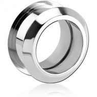 STAINLESS STEEL INTERNALLY THREADED ANGLED TUNNEL