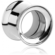 STAINLESS STEEL DOUBLE FLARED INTERNALLY THREADED TUNNEL
