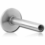 SURGICAL STEEL INTERNALLY THREADED LABRET PIN