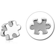 SURGICAL STEEL ATTACHMENT FOR 1.6MM INTERNALLY THREADED PINS - JIGSAW PIERCING