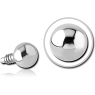 SURGICAL STEEL BALL FOR 1.2MM INTERNALLY THREADED PINS PIERCING