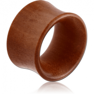 ORGANIC WOODEN TUNNEL -SAWO DOUBLE FLARED THIN PIERCING