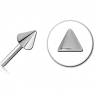 SURGICAL STEEL THREADLESS ATTACHMENT - CONE PIERCING