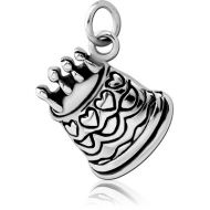 SURGICAL STEEL CHARM - CAKE