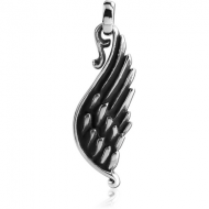 SURGICAL STEEL PENDANT - WING