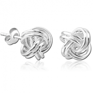 STERLING SILVER 925 EAR STUDS PAIR