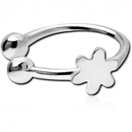 STERLING SILVER 925 ILLUSION NOSE RING WITH DISTRIBUTED PIERCING