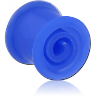 SILICONE DOUBLE FLARED SPIRAL TUNNEL