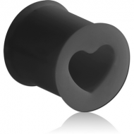 SILICONE DOUBLE FLARED HEART TUNNEL