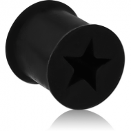 SILICONE DOUBLE FLARED STAR TUNNEL