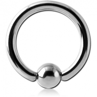 TITANIUM BALL CLOSURE RING