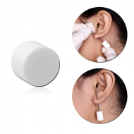 POLYMER STOPPER FOR PIERCING NEEDLE PIERCING