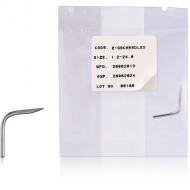 STERILE CURVED STAINLESS STEEL NEEDLE PIERCING