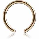 14K GOLD BALL CLOSURE RING PIN