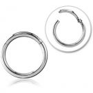 SURGICAL STEEL HINGED SEGMENT RING
