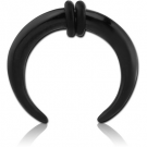 BLACK PVD COATED SURGICAL STEEL CIRCULAR CLAWS