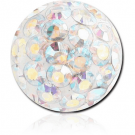 EPOXY COATED CRYSTALINE JEWELLED BALL